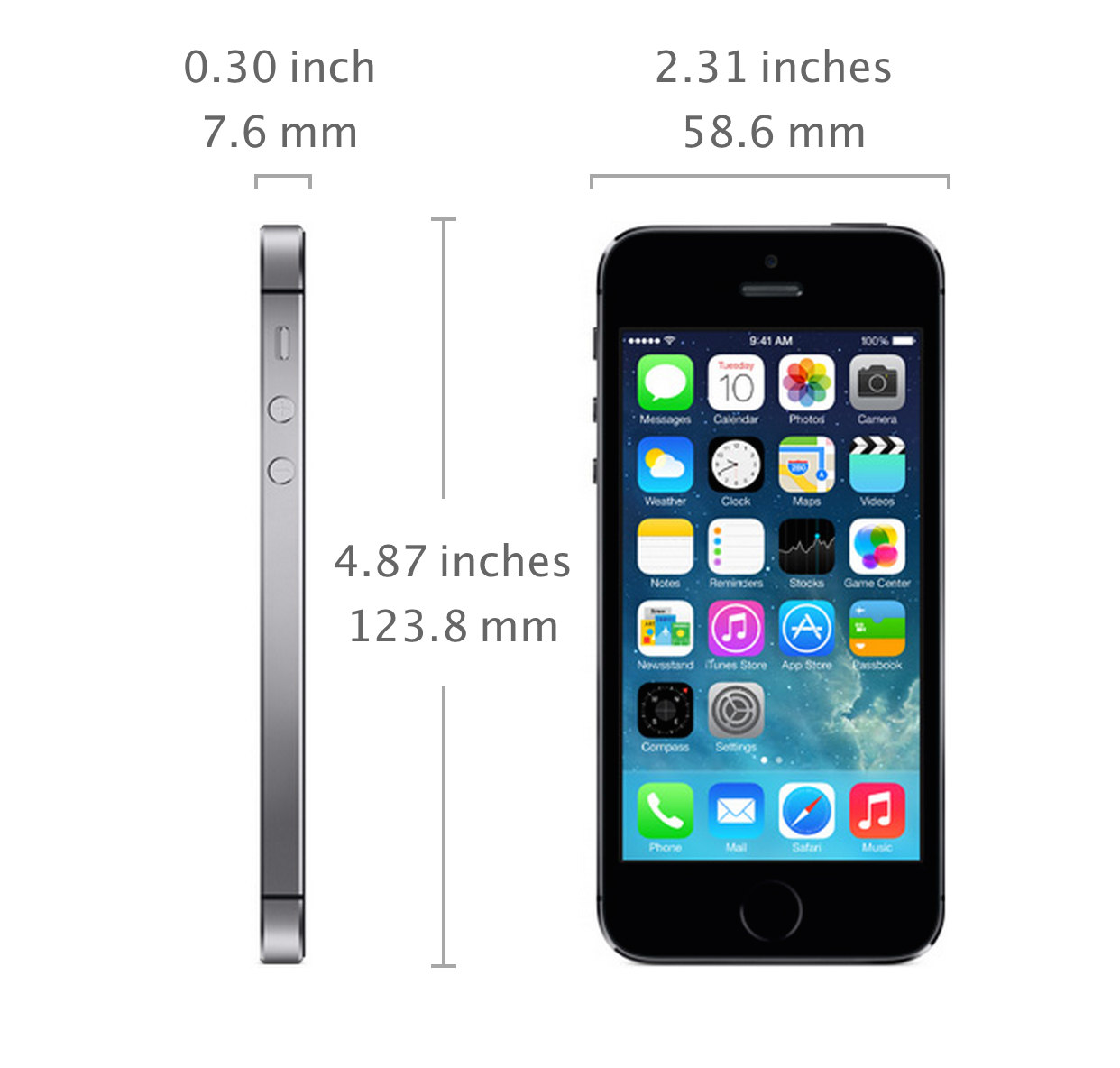 dimensions of iphone 5 specs apple iphone 4s 2018 dodge reviews 3713